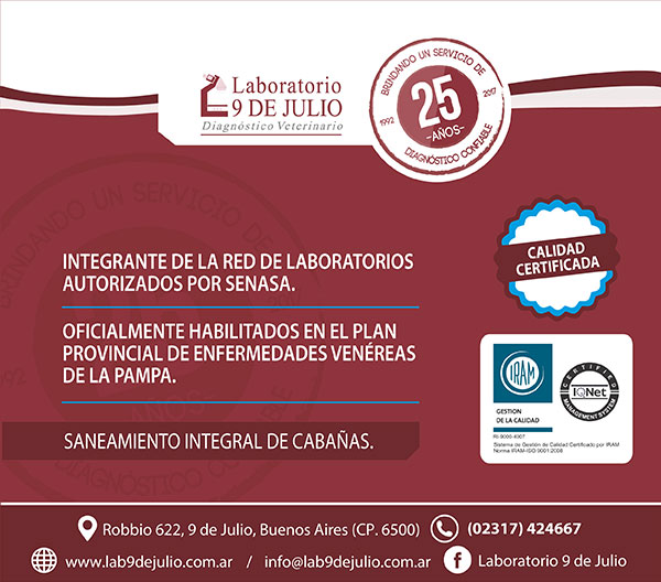 Laboratorio 9 de Julio MAY17
